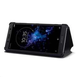 SONY Style Cover Stand for Xperia XZ2 Compact Black preview