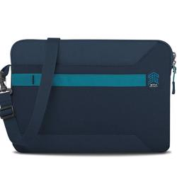 STM 15-Inch Laptop & Tablet Blazer Sleeve - Dark Navy