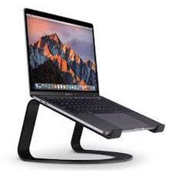 TWELVE SOUTH Curve Desktop Stand for MacBook Black