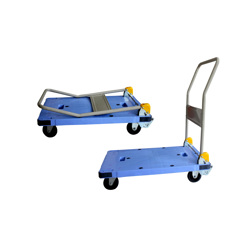 GAZELLE - Platform Trolley – Steel Bed w/Folding Handle preview