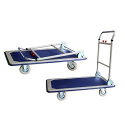 GAZELLE - Platform Trolley – Steel Bed w/Folding Handle