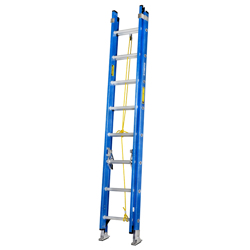 GAZELLE - 16 Ft. Fiberglass Extension Ladder w/ 300 Lbs. Load Capacity preview