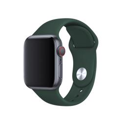 BEHELLO Premium Apple Watch 42/44mm Silicone Strap - Green