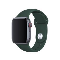 BEHELLO Premium Apple Watch 38/40mm Silicone Strap - Green