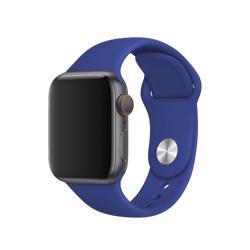 BEHELLO Premium Apple Watch 42/44mm Silicone Strap - Blue