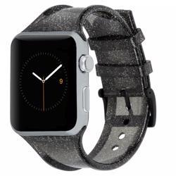 CASE-MATE 42mm Apple Watchband Sheer Glam Noir