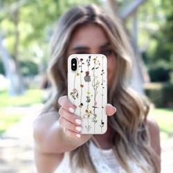 CASETIFY Snap Case Floral for iPhone XS/X