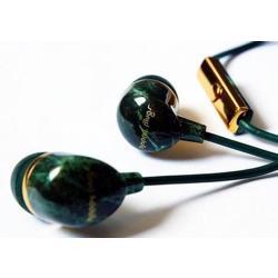 HAPPY PLUGS Deluxe In-Ear Headphones Jade Green