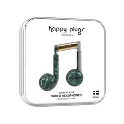 HAPPY PLUGS Earbud Plus Green Marble