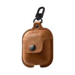 TWELVE SOUTH Airpods AirSnap Leather Protective Case Cognac