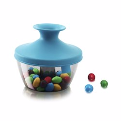 TOMORROW''''S KITCHEN PopSome Nut and Candy Dispenser Blue
