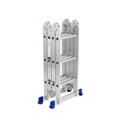 GAZELLE - 15 Ft. Aluminium Ladder 4 section 4 x 4 steps
