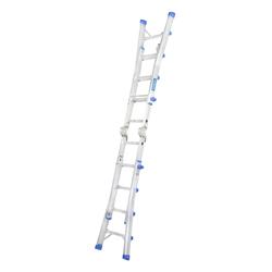GAZELLE - 15.5 Ft. Telescopic Aluminium Ladder 4 x4 Steps preview