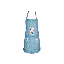 RoyalFord RF6201 Peachskin Polyster Fabric Apron , Multipurpose Kitchen Chef Aprons for Women , Perfect for Home Restaurant Craft BBQ Coffee House