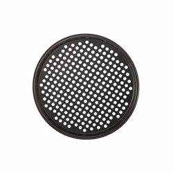 RoyalFord RFU9069 Pizza Pan , Carbon Steel, Aerated Holes, Oven Safe, Premium Non-Stick Coating, 0.4MM Thick, PFOA & PTFE Free