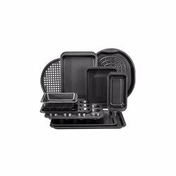 RoyalFord RFU9088 10pcs Bakeware Set , Carbon Steel, Oven Safe, Premium Non-Stick Coating, 0.4MM Thick, PFOA, PTFE, and BFA Free
