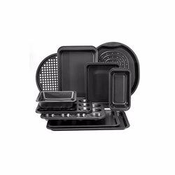 RoyalFord RFU9089 6 PCS Bakeware Set , Carbon Steel, Oven Safe, Premium Non-Stick Coating, 0.4MM Thick, PFOA, PTFE, and BFA Free
