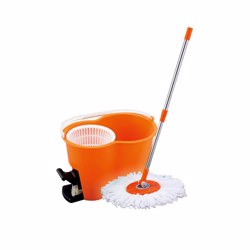 RoyalFord RF4238 360° Spin Easy Mop with Dehydration Bucket