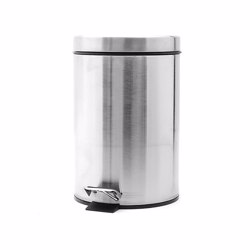 Royalford RF5126 Stainless Steel Pedal Bin, 7L