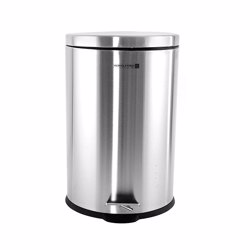 Royalford RF5127 Stainless Steel Pedal Bin, 12L