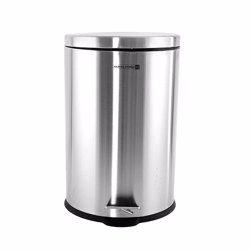 Royalford RF5128 Stainless Steel Pedal Bin, 20L