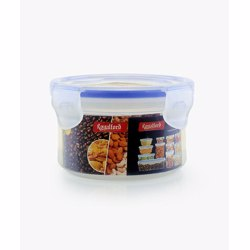 RoyalFord RF419APB 300ml Meal Prep Container |Transparent Food Container | BPA Free, Reusable, Airtight Food Storage Tray with Snap Locking Lid | Microwavable, Freezer & Dishwasher Safe| Bento Lunch Box