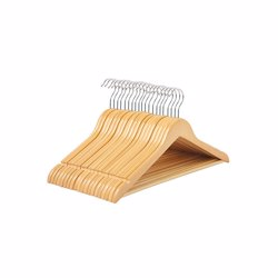 RoyalFord RFU9013 4Pcs Rotating Wooden Hanger Set