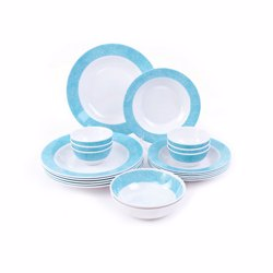 Royalford RF7436 Melamine Dinner Set, 20pieces