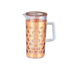 RoyalFord RF8227 Rose Gold Acrylic Water Jug, 2.31L