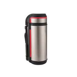 RoyalFord RF7669 1.7L Thermo Cafe Multi Purpose Stainless Steel Flask, Thermal Food Container with Double Wall Vacuum for Hot and Cold Beverages