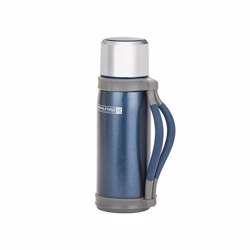 RoyalFord RFU9040 1200ml Thermo Vacuum Flask , Double Wall, Stainless Steel, Hot & Cool, Vacuum Insulation, Leak-Resistant , Preserves Flavor and Freshness