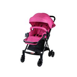 Baby Plus BP7733-PINK1 Stroller, 0-2 Years