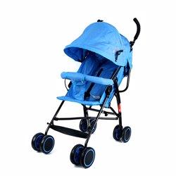 Baby Plus BP7731-BLUE Stroller, 0-2 Years