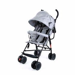 Baby Plus BP7731-GREY Stroller, 0-2 Years