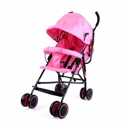 Baby Plus BP7731-PINK Stroller, 0-2 Years