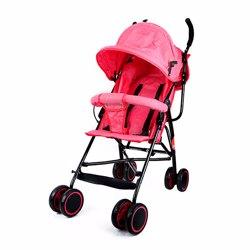 Baby Plus BP7731-RED Stroller, 0-2 Years