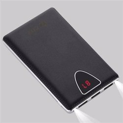 Zoook ZP PBS10C Mobile Portable Charger 10000mAh Polymer Triple USB with LCD Display ( Ultra Sleek) - Black preview
