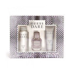 Guess Dare (M) Edt 100Ml+200Ml Sg+226Ml Body Spray Set