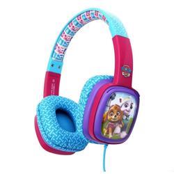 HEDRAVE Wired Pap Patrol Card Headphones Pink