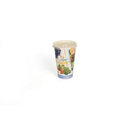 Hotpack 50-Piece Disposable Paper Juice Cup Multicolour 12 ounce
