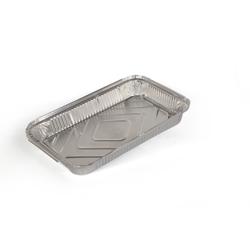 Hotpack 250-Piece Aluminium Container Base Silver