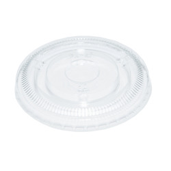 Hotpack 500-Piece Lids For 30 ml Portion Cup Pet Clear 30 ml