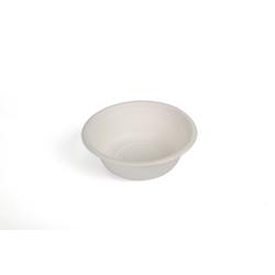 Hotpack 1000- Piece Bio Degradable Bowl Set White 12 ounce