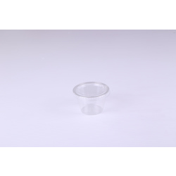 Hotpack 200-Piece Garlic Cups With Lid Clear
