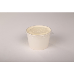 Hotpack 600-Piece Paper Soup Bowl White 35 ounce