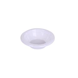 Hotpack 500- Piece Plastic Bowl Set White 15 centimeter