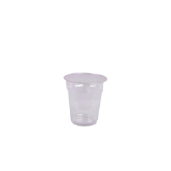 Hotpack 1000- Piece Crystal Clear Pet Cup Set Clear 14 ounce