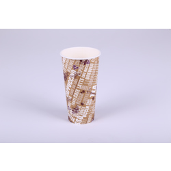 Hotpack 1000- Piece Paper Heavy Duty Cup Set Multicolour 24 ounce