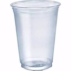 Hotpack 1000-Piece Plastic Juice Cup Clear 12 ounce