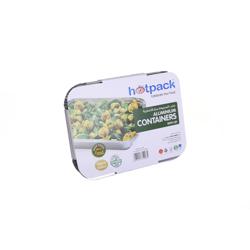 Hotpack Pack Of 24 Aluminum Container 1850Cc Multicolour